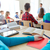 Schüler · Sitzung · Computer · High · School · Klasse · Internet - stock foto © dolgachov