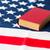 американский · флаг · книга · американский · день · национализм - Сток-фото © dolgachov
