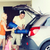 happy family packing things to car at home parking stock photo © dolgachov