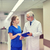 senior doctor and nurse with tablet pc at hospital stock photo © dolgachov