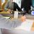 cliente · soldi · ricevimento · banca · counter · persone - foto d'archivio © dolgachov