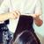 handen · professionele · kapper · mooie · brunette · haren - stockfoto © dolgachov