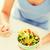 mulher · mão · garfo · preparado · dietético - foto stock © dolgachov