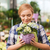 mooie · vrouw · bloemen · schoonheid · mensen · vakantie - stockfoto © dolgachov
