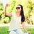 jonge · vrouw · zonnebril · zelfportret · vergadering · jonge - stockfoto © dolgachov