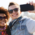 happy teenage friends in shades taking selfie stock photo © dolgachov