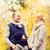 happy family in autumn park stock photo © dolgachov