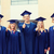 group of smiling students in mortarboards stock photo © dolgachov
