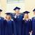 studenten · afstuderen · hoeden · groep · vergadering · klasse - stockfoto © dolgachov