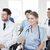 аудитории · лекция · зале · оратора · говорить · деловое · совещание - Сток-фото © dolgachov