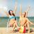 kızlar · güneşlenme · plaj · yaz · tatil · tatil - stok fotoğraf © dolgachov