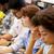 internacional · estudantes · corpo · palestra · educação · escola · secundária - foto stock © dolgachov