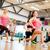 aerobik · personal · trainer · adam · uygunluk · spor · salonu - stok fotoğraf © dolgachov