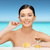 güzel · bir · kadın · omega · 3 · vitaminler · sağlık · güzellik · kadın - stok fotoğraf © dolgachov