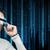 homem · futurista · óculos · pessoas · tecnologia · futuro - foto stock © dolgachov