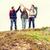 группа · улыбаясь · друзей · походов · Adventure · путешествия - Сток-фото © dolgachov