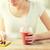 femme · smartphone · smoothie · régime · alimentaire - photo stock © dolgachov