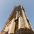 超高層ビル · クレーン · 建設 · 建物 · 曇った · 空 - ストックフォト © dolgachov