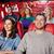 mutlu · arkadaşlar · izlerken · film · tiyatro · sinema - stok fotoğraf © dolgachov