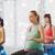 fitness · christmas · kobieta · szkolenia · strony - zdjęcia stock © dolgachov