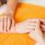 manicure process on female hands stock photo © dolgachov