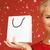 画像 · かなり · クリスマス · 少女 · 赤いドレス · サンタクロース - ストックフォト © dolgachov