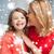 matka · córka · rodziny · dzieci · christmas - zdjęcia stock © dolgachov