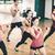 grup · insanlar · dambıl · uygunluk · spor · eğitim - stok fotoğraf © dolgachov
