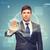 привлекательный · рабочих · виртуальный · экране · бизнеса · служба - Сток-фото © dolgachov