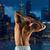 jovem · masculino · musculação · pesado · peso - foto stock © dolgachov