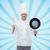 şef · tava · gıda · Metal · mutfak - stok fotoğraf © dolgachov