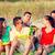család · ül · tengerpart · mosolyog · gyerekek · szeretet - stock fotó © dolgachov