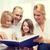 gülen · ebeveyn · iki · ev · aile - stok fotoğraf © dolgachov