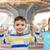 детей · изолированный · белый · развивающийся · синий · радуга - Сток-фото © dolgachov