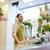 florista · hombre · vendedor · personas · venta - foto stock © dolgachov