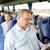 senior · homem · maduro · óculos · jornal - foto stock © dolgachov