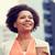 微笑 · 佳人 · 飲用水 · 熱 · 咖啡 · 戶外活動 - 商業照片 © dolgachov