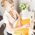 女性 · マニキュア · サロン · 魅力のある女性 · 幸せ · リラックス - ストックフォト © dolgachov
