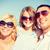 famille · heureuse · ciel · bleu · été · vacances · enfants · personnes - photo stock © dolgachov