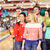 szczęśliwy · znajomych · bowling · klub · ludzi - zdjęcia stock © dolgachov