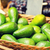 avocado in basket at food market stock photo © dolgachov
