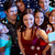 friends with smartphone taking selfie in club stock photo © dolgachov