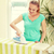 домохозяйка · железной · женщину · улыбка · лице · счастливым - Сток-фото © dolgachov