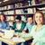 student · middelbare · school · bibliotheek · twee · vrouwelijke - stockfoto © dolgachov
