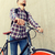 jonge · man · paardrijden · vast · versnelling - stockfoto © dolgachov