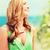 девушки · еды · кафе · пляж · лет · праздников - Сток-фото © dolgachov