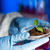 close up of scientist hands with plant and soil stock photo © dolgachov