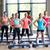 gruppo · sorridere · donne · palestra · fitness - foto d'archivio © dolgachov