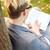 интеллектуальный · мальчика · очки · лице · счастливым · глазах - Сток-фото © dolgachov