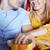 gelukkig · paar · kijken · film · theater · bioscoop - stockfoto © dolgachov